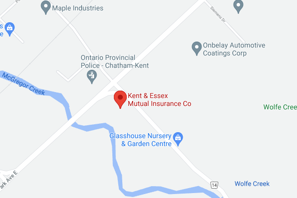 Kent & Essex Location Map Image